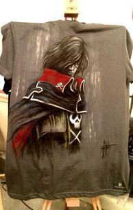 T Shirt Capitan Harlock