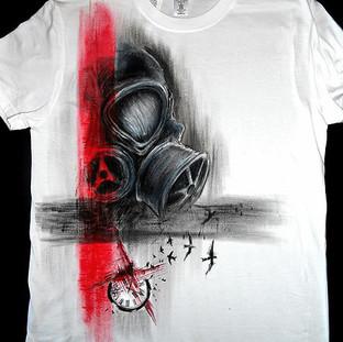 Handpainted T Shirt