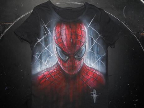 Spiderman_Handpainted T Shirt (1).JPG