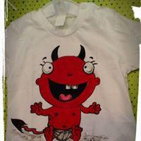 Red baby devil