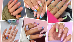 Trendy French Tip Nails Of 2021