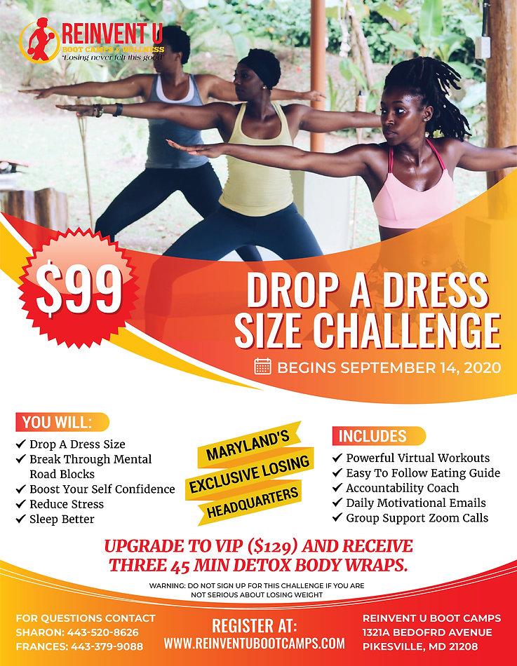 Drop A Dress Size Challenge fall 2020.jp