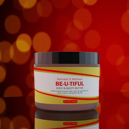 BE-U-TIFUL Body/Booty Butter 4oz