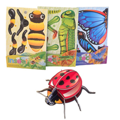 3D Insect Puzzle