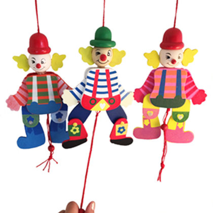 Pull String Clown