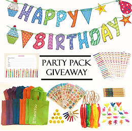 kids party favours give away