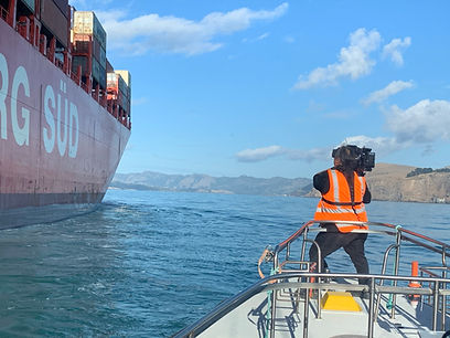 Filming the container ship.jpeg