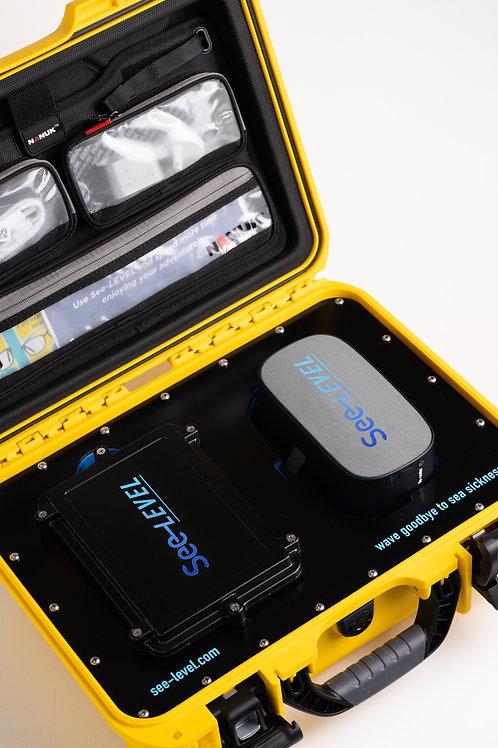 See-LEVEL, seasick solution - Single headset Edition