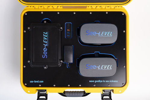 See-LEVEL, seasick solution - Duel Headsets