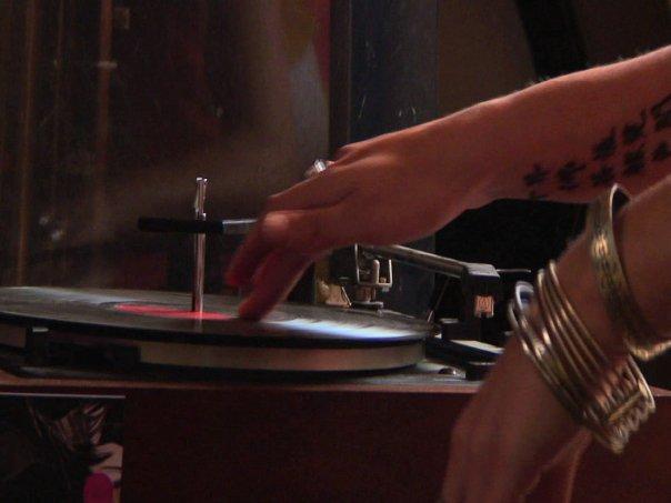 old school vinyls and my friend carmel's beautiful tattoo _)))