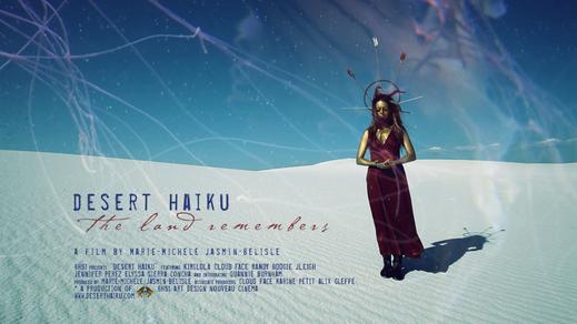Desert Haiku, postcard