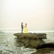 Wedding at Swamis beach, Encinitas