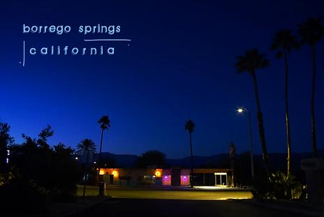 Borrego springs California
