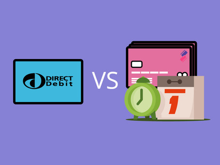 Direct Debit vs. Recurring Payments…what's the difference?