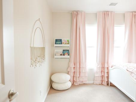 SWEET LITTLE GIRL'S ROOM DESIGN