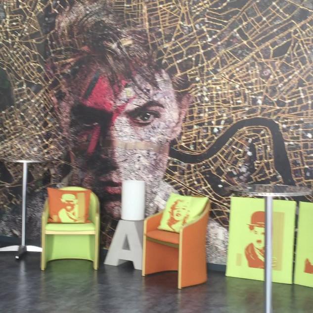 Bowie's carpet