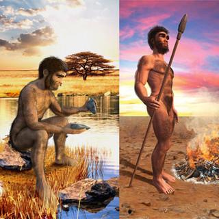 The prehistoric men