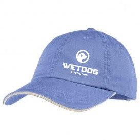BABY BLUE LOGO HAT