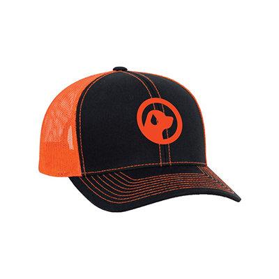 ORANGE & BLACK ICON CAP