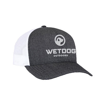 WHITE & CHARCOAL LOGO CAP