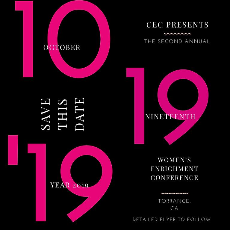 Annual Women's Enrichment Conference
