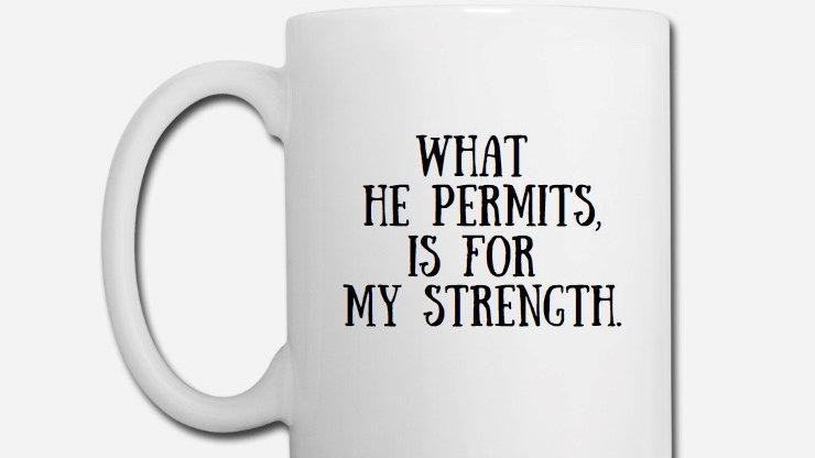 What God Permits Mug