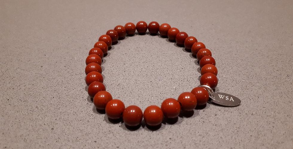 Red Jasper bracelet (Rode jaspis armband)