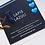 Thumbnail: Lapis Lazuli minimalist necklace (lapis lazuli ketting)