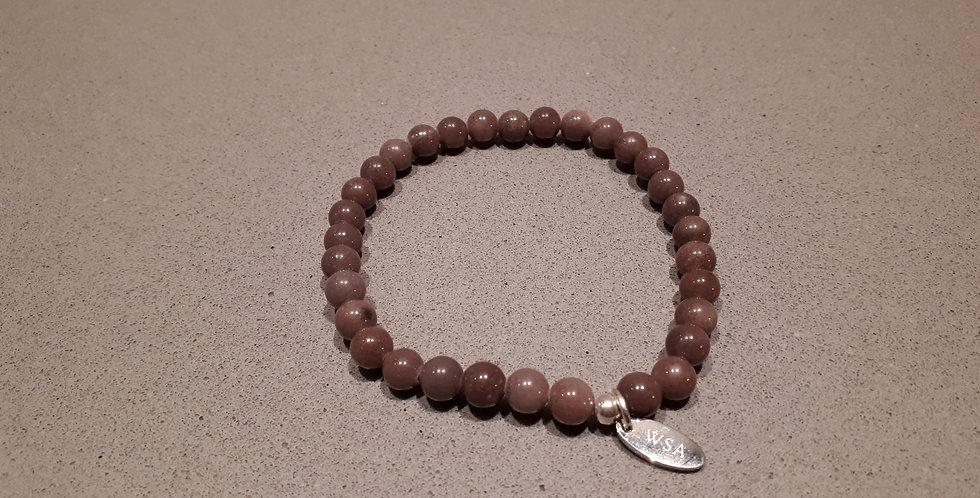 Aventurine bracelet round beads (aventurijn armband ronde kraal)