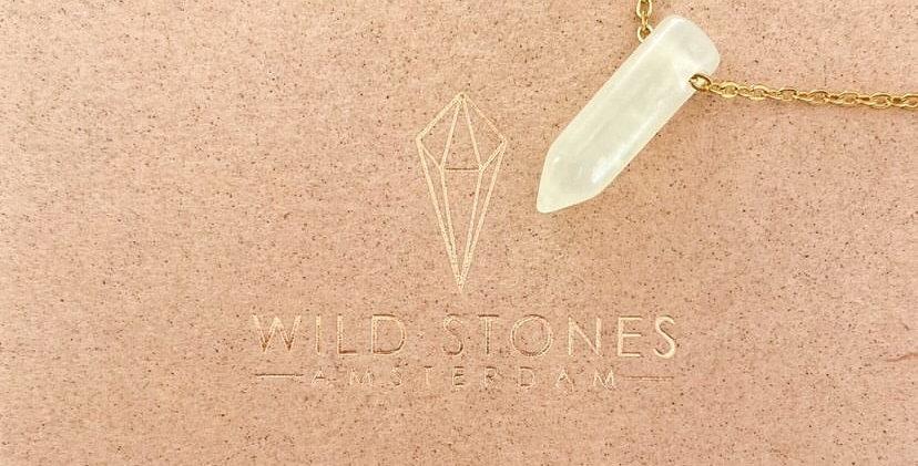 MINI Jade minimalist necklace (jade ketting)
