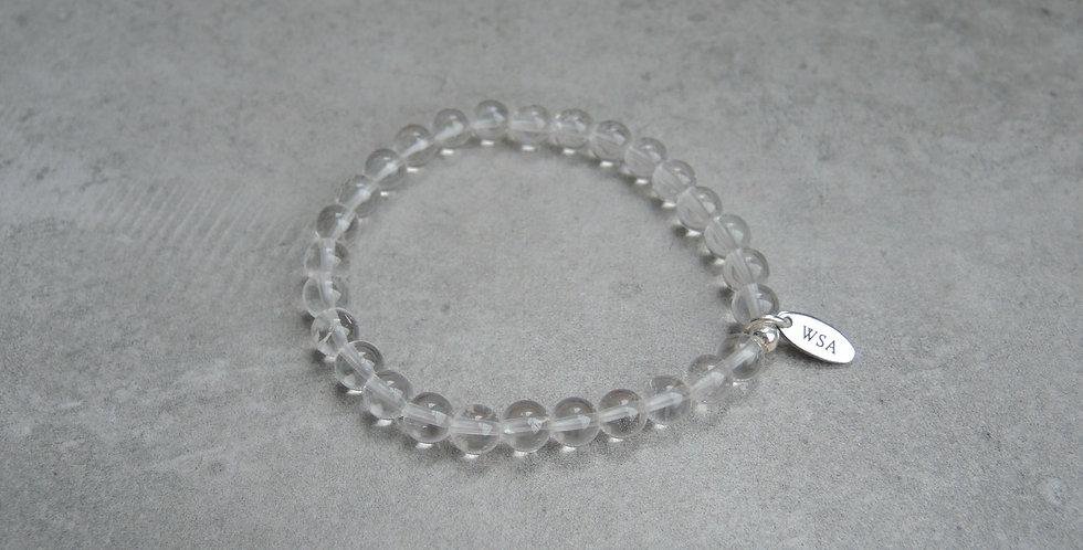 Clear quartz bracelet (bergkristal armband)