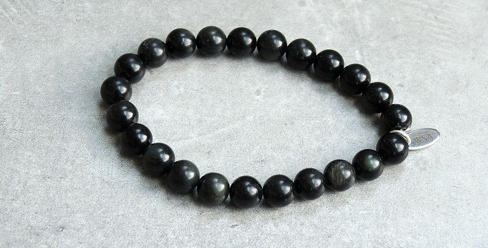 Black tourmaline bracelet (zwarte toermalijn armband)