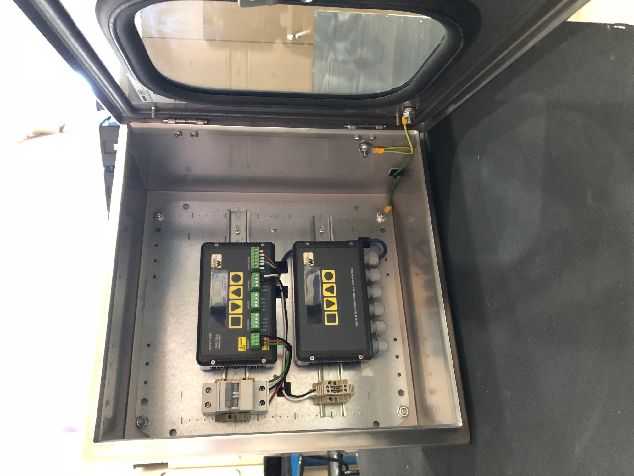loadcell control panel 2