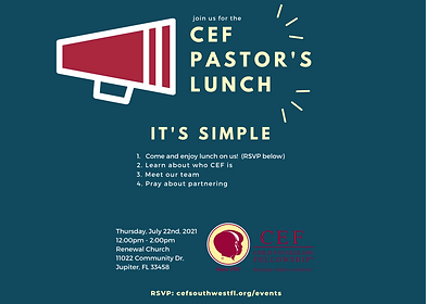 Copy of CEF Pastor's Lunch (email flyer)