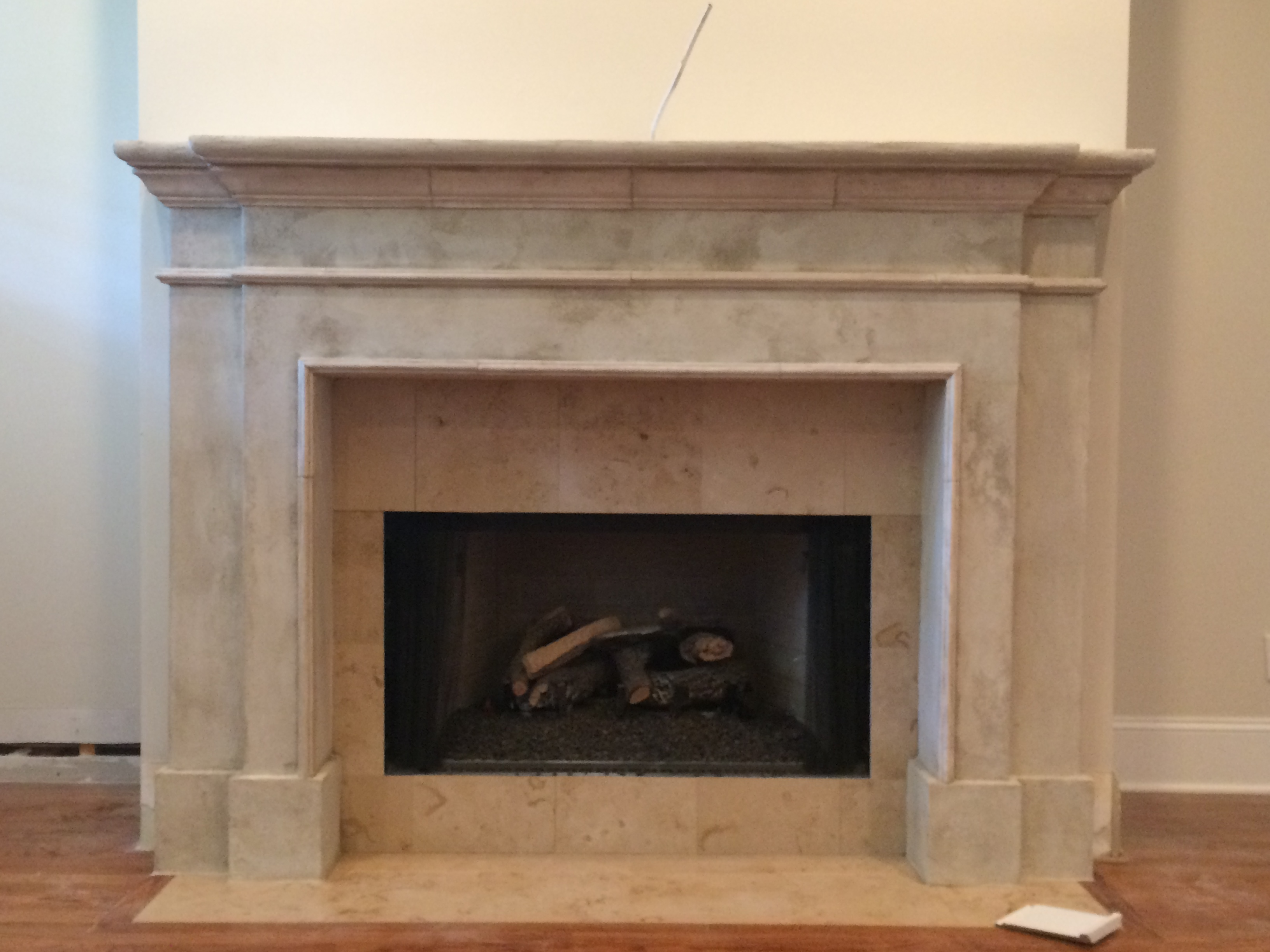 Stone Fireplace Surround Chattanooga