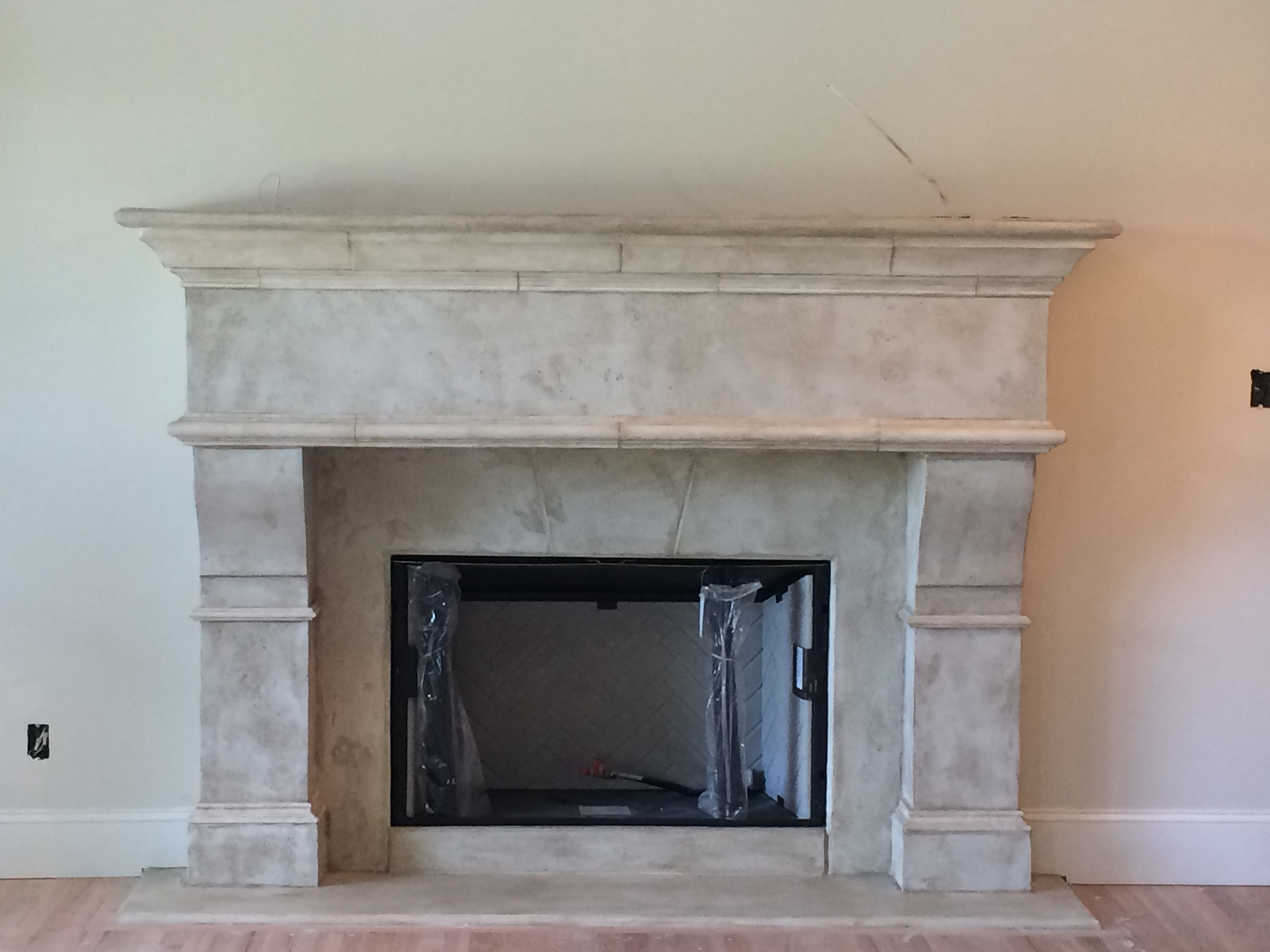 stucco fireplace surround home design inspirations