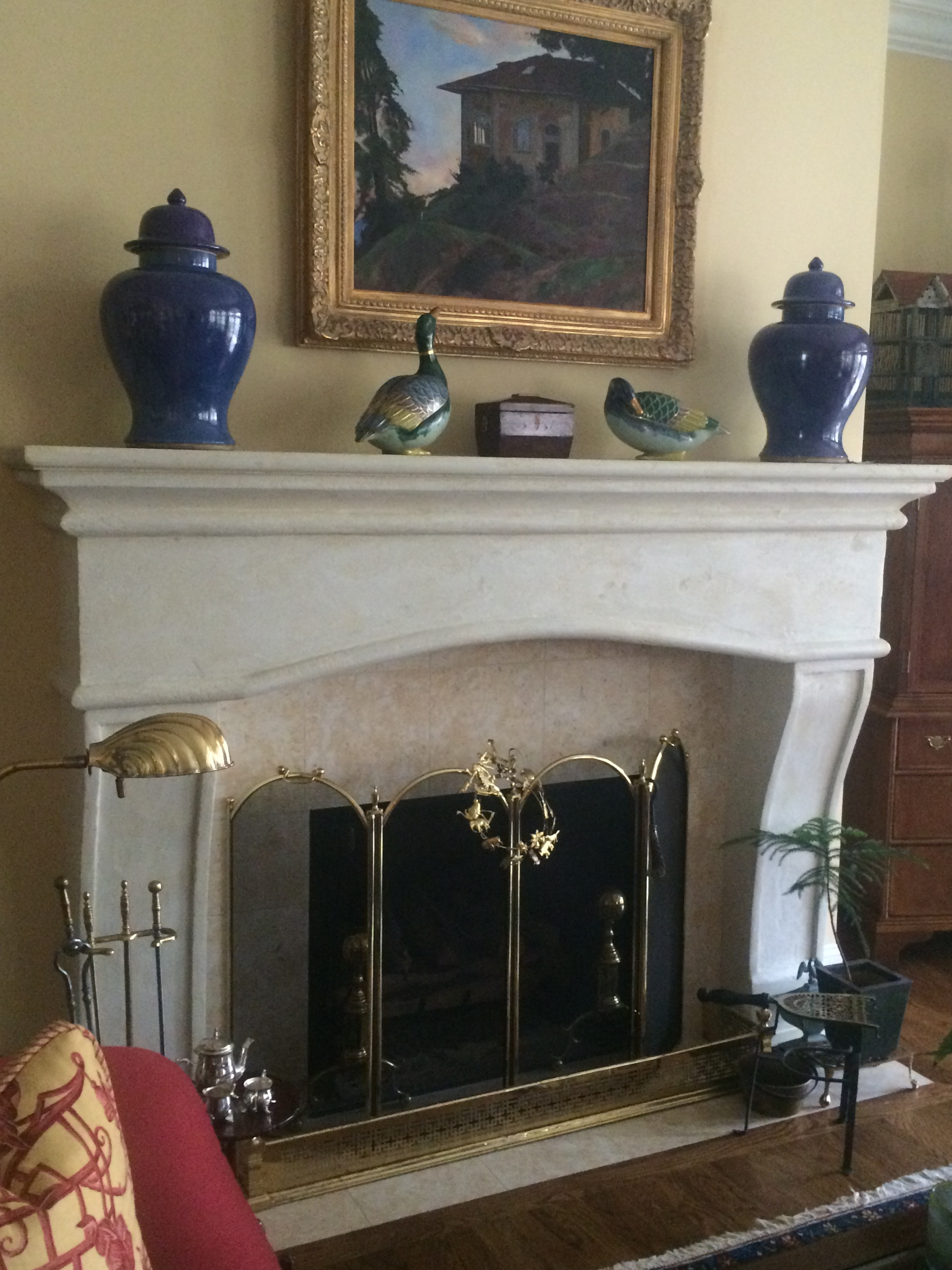 Custom Fireplace Chattanooga