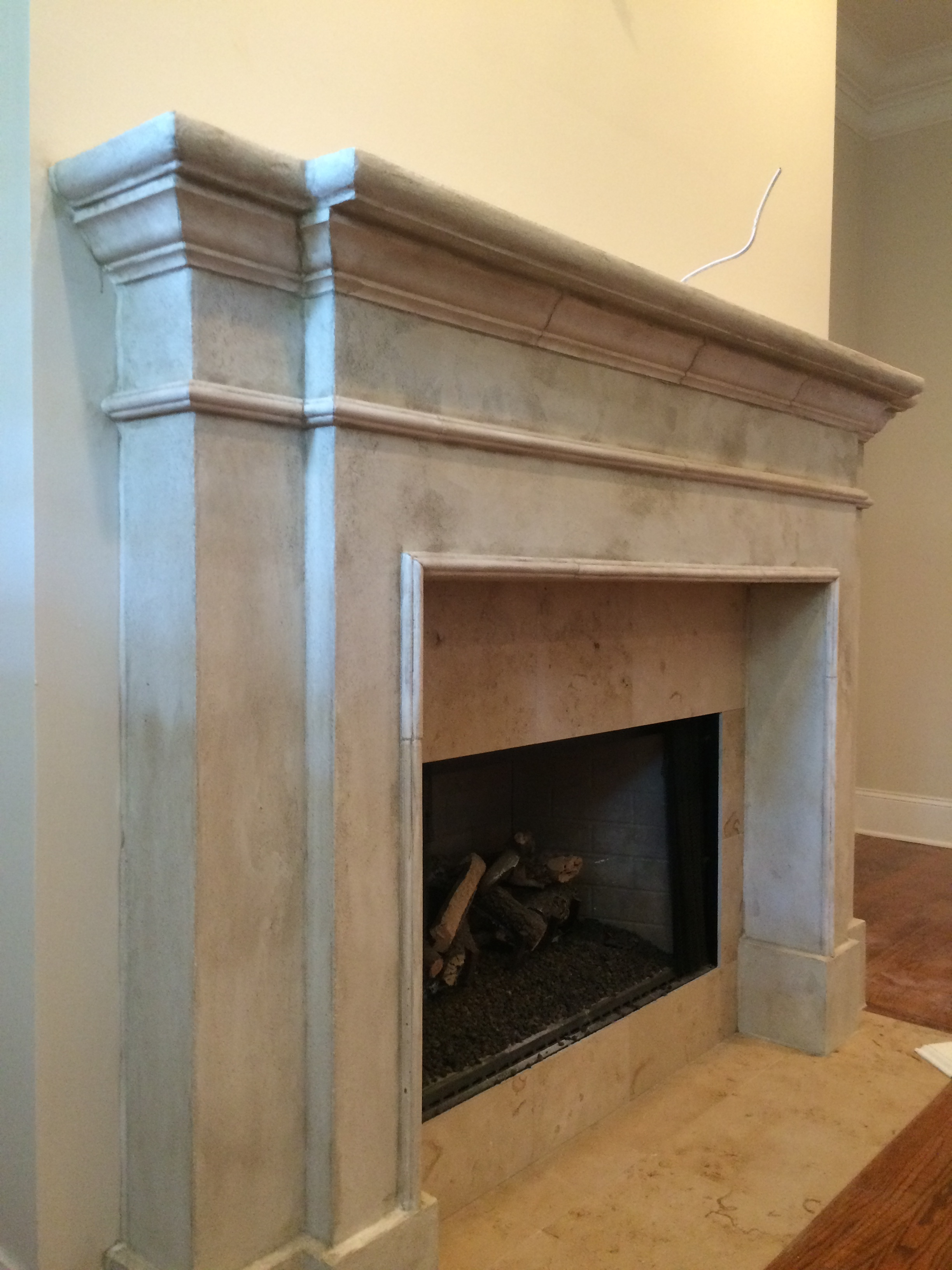 Limestone Fireplace Chattanooga