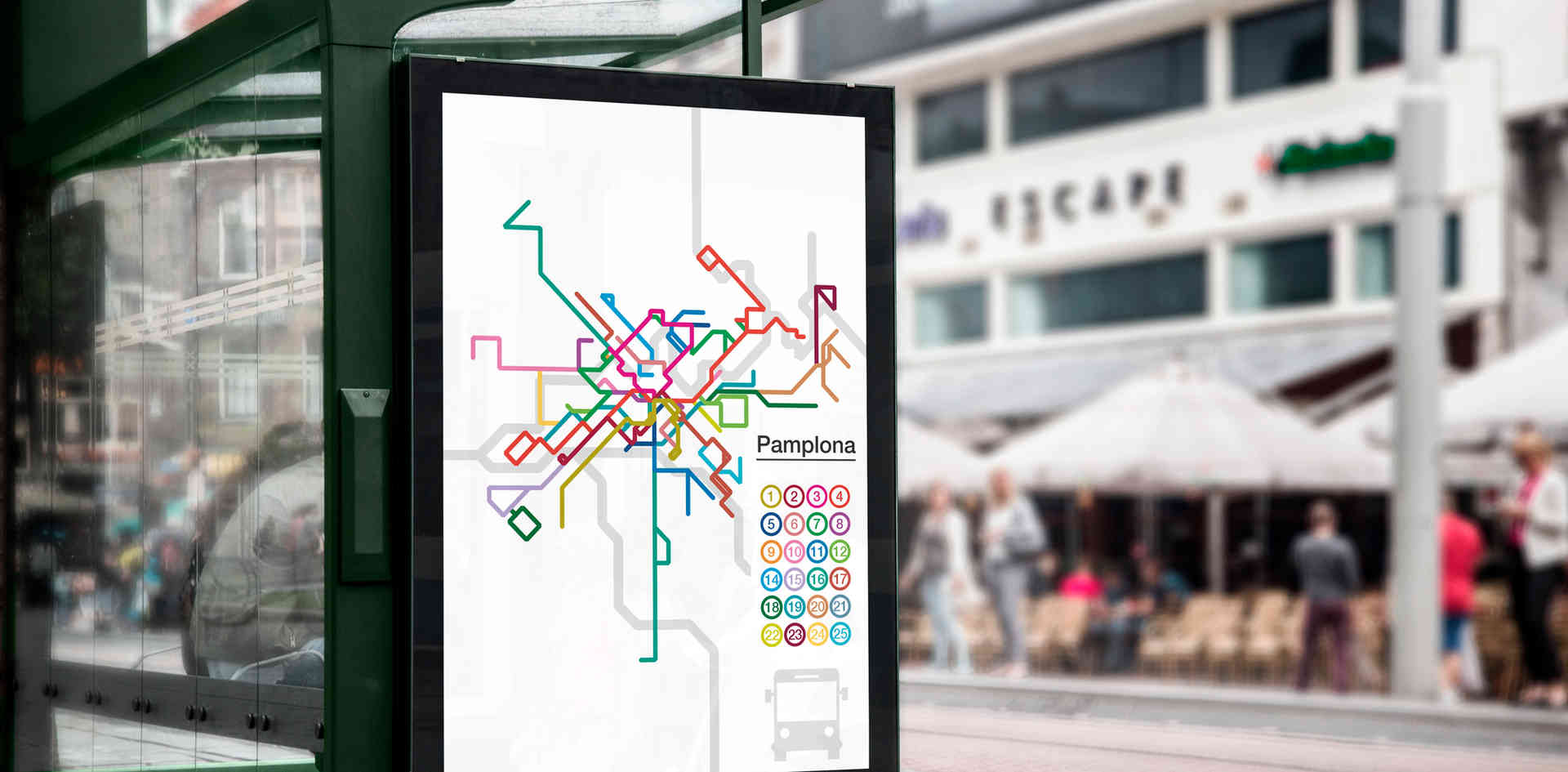 Mapa de lineas de autobus
