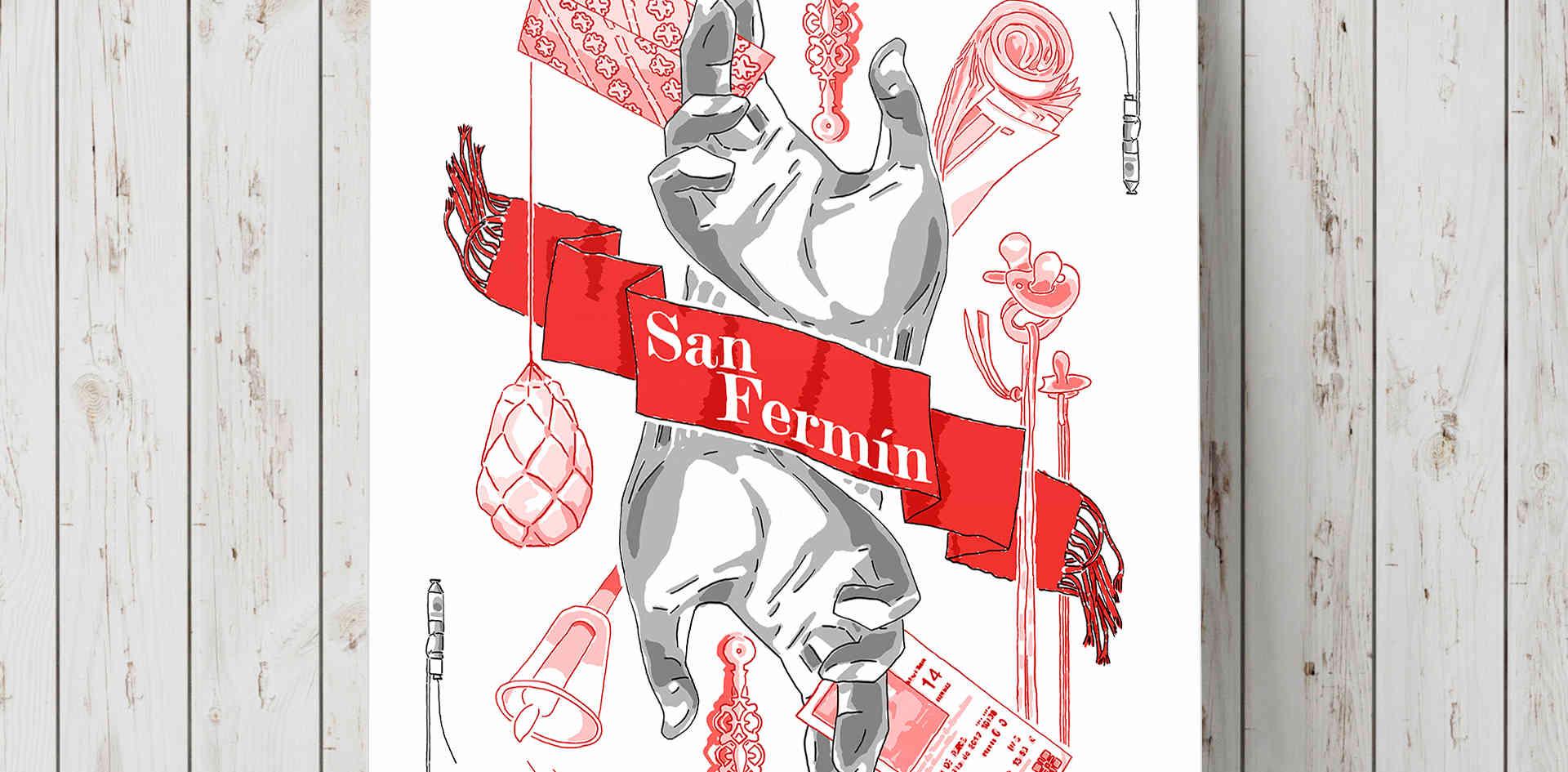 Cartel - San Fermín