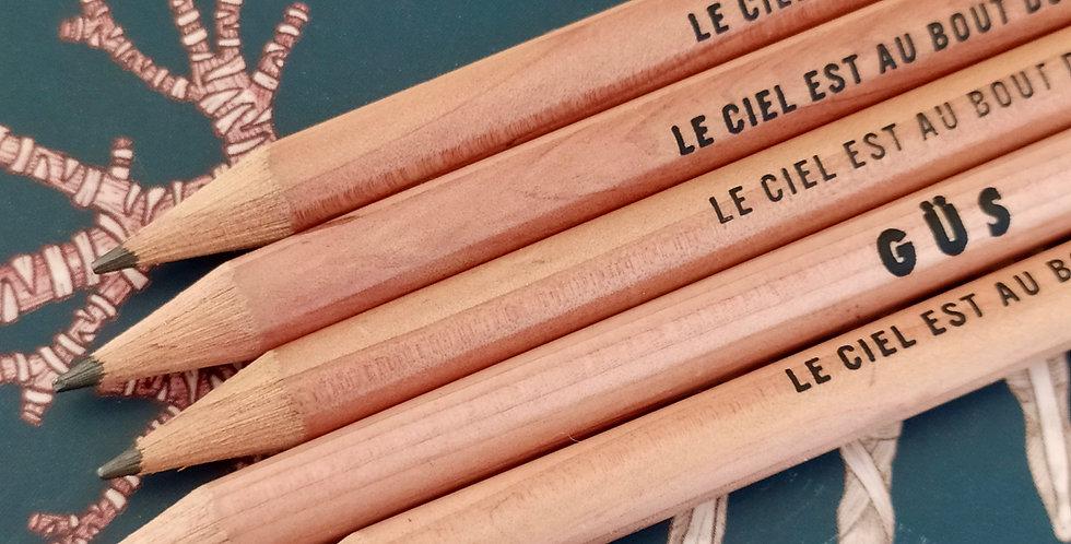 Crayon à papier Mistoupi