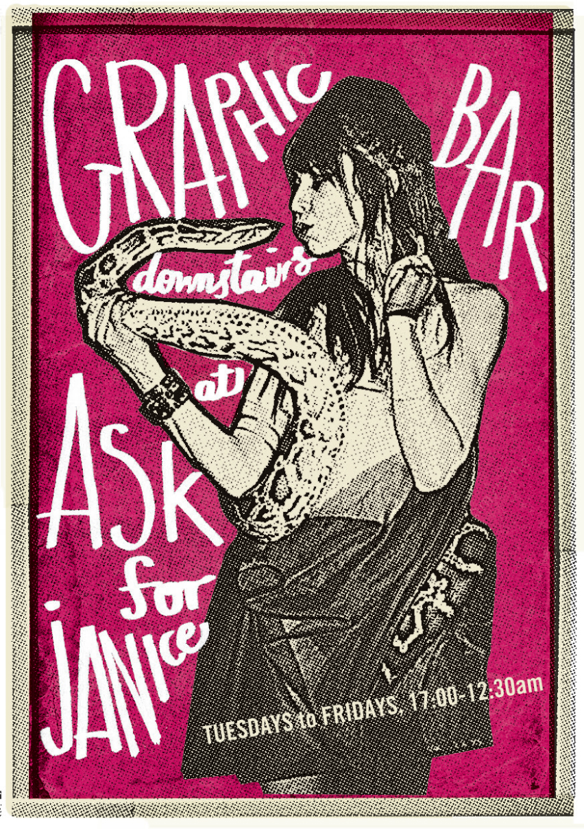 Graphic Bar - poster