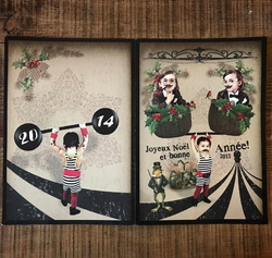 French Home Christmas Card
