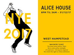Alice House Entry ticket