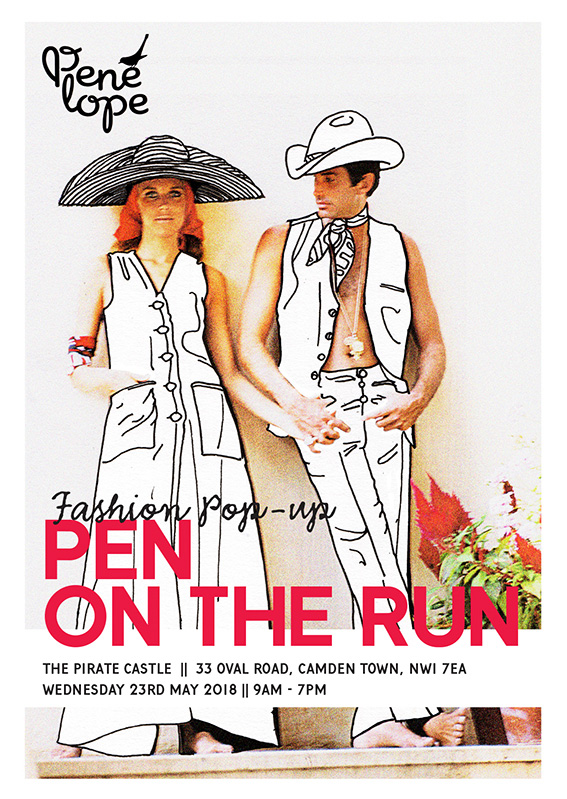 """Pen on the Run"" Fashion Sale ID"