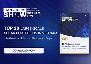Top 30 Large-scale Solar Portfolios in Vietnam