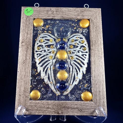 Cobalt&Gold Angel 5x7