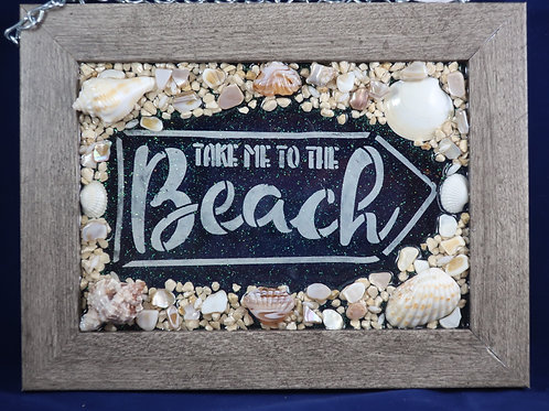 Take me to the Beach 5x7