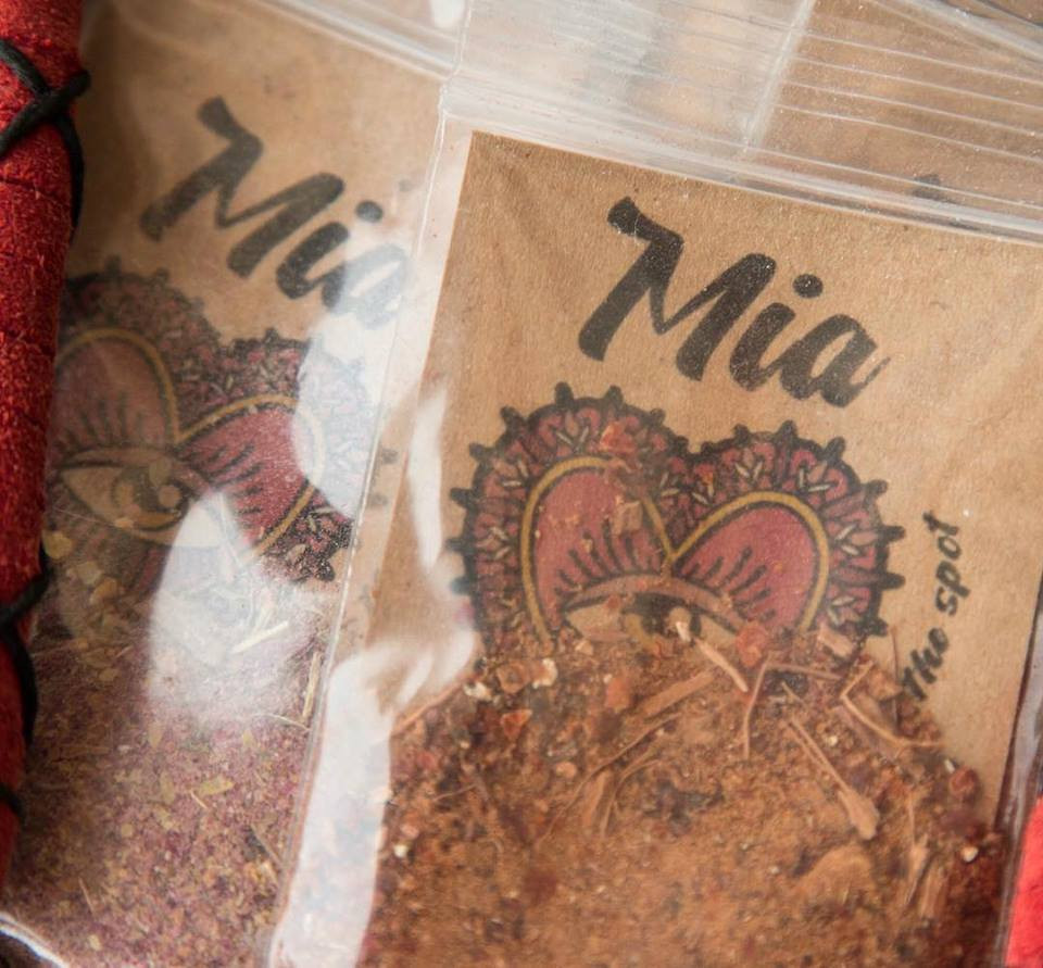 Reiki infused incense by Mia X Marks the Spot