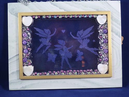Violet Faeries  5x7